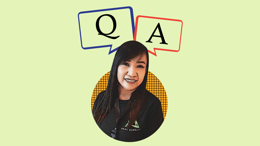 Peak Support Q&A:Mari Lou NinaPineza