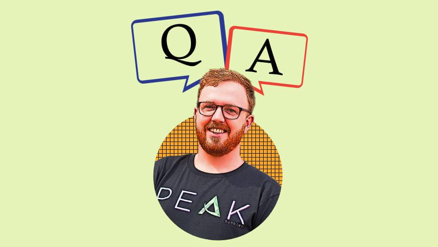 Peak Support Q&A: George Tillotson