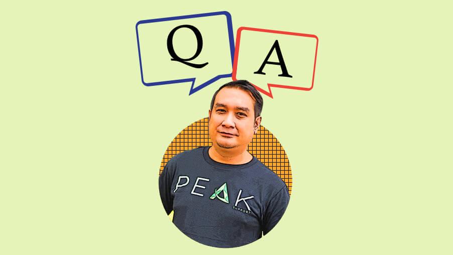 Peak Support Q&A: Mark Pabriaga
